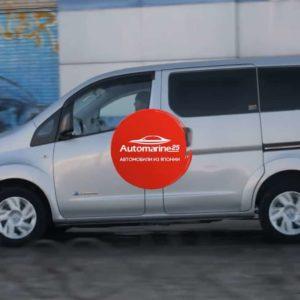 автообзор на новый электрический микроавтобус Nissan e-nv200
